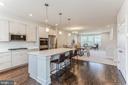 Quartz countertops and light grey cabinets - 1638 SANDPIPER BAY LOOP, DUMFRIES