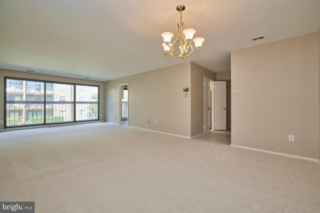 New Carpet Throughout - 10300 BUSHMAN DR #204, OAKTON
