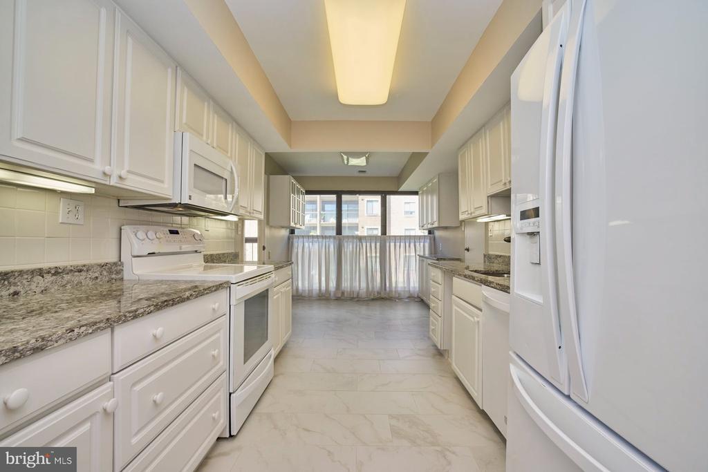 Updated Kitchen - 10300 BUSHMAN DR #204, OAKTON