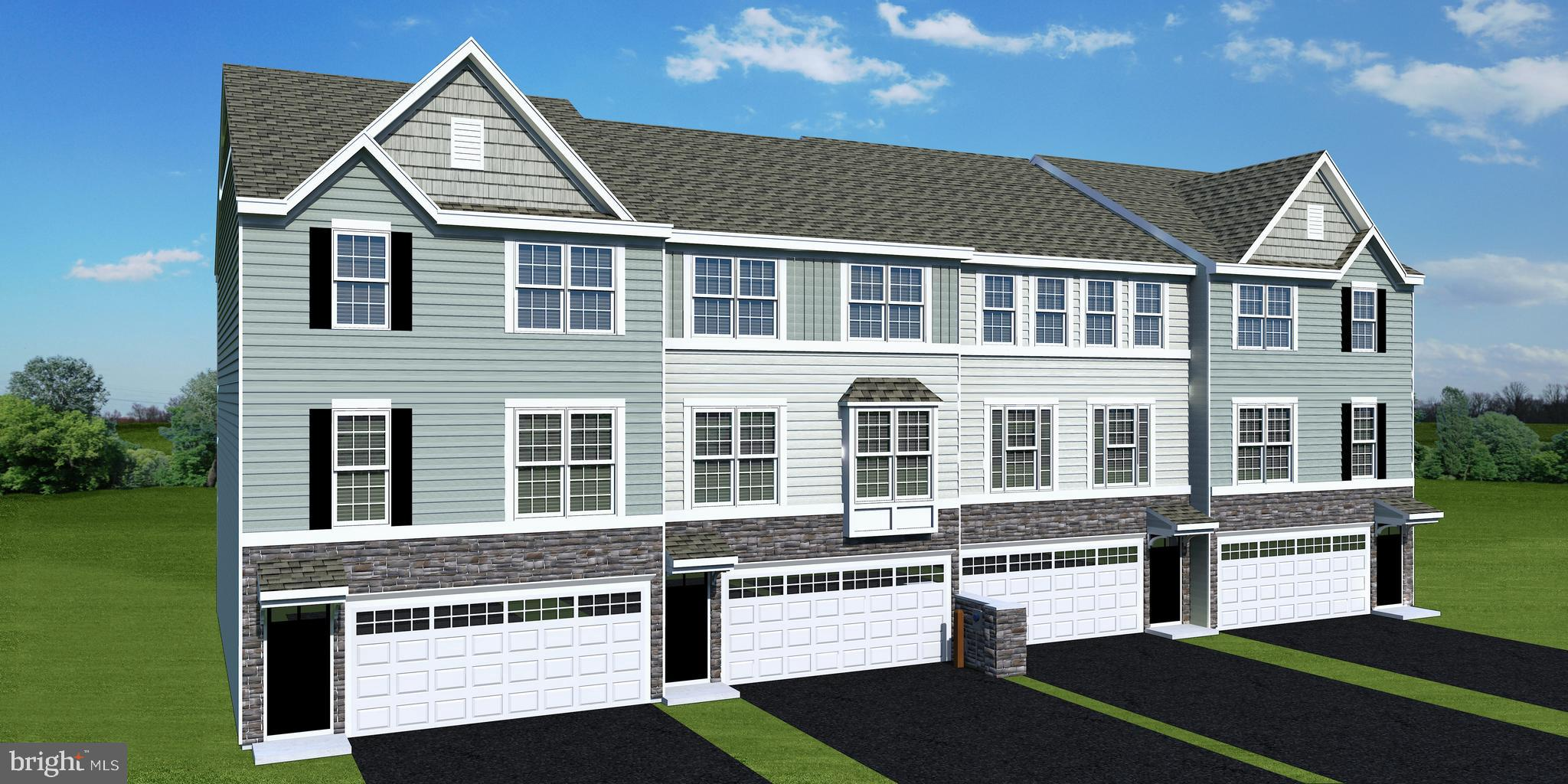 Great Opportunity with New Castle County Workforce Program! Spacious new garage townhome at attractive price.  The Dewey model has 1,830 square feet, and 3 above-ground levels.  The main floor has 9' ceilings, and features a new open kitchen/cafe with an adjacent deck.  The spacious Great Room is off of the kitchen.  The second floor features the owners' bedroom with an en-suite bath and walk-in closet. The second and third bedrooms have easy access to the second full bath.  The lower level has sliding glass doors that give outside access.  The 2 car garage has plenty of space for storage.  The Preserve townhomes back up to open space and are located in the highly sought after Appoquinimink School District.  Thoughtfully included is rough in plumbing for a future powder room on the lower level. All of this, and your own yard too! WOW! (income limits apply...call sales office for details).  Photos may be of a similar or furnished model home.