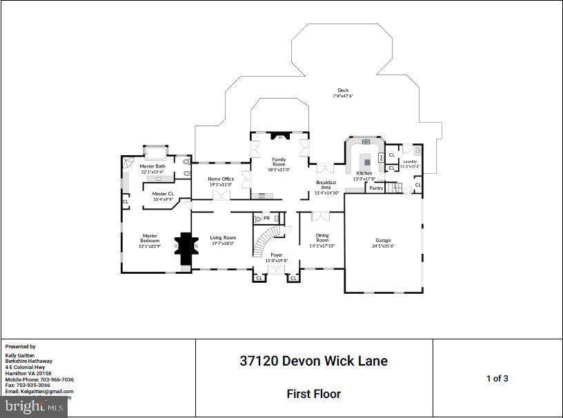 37120 DEVON WICK Ln, Purcellville, VA, 20132
