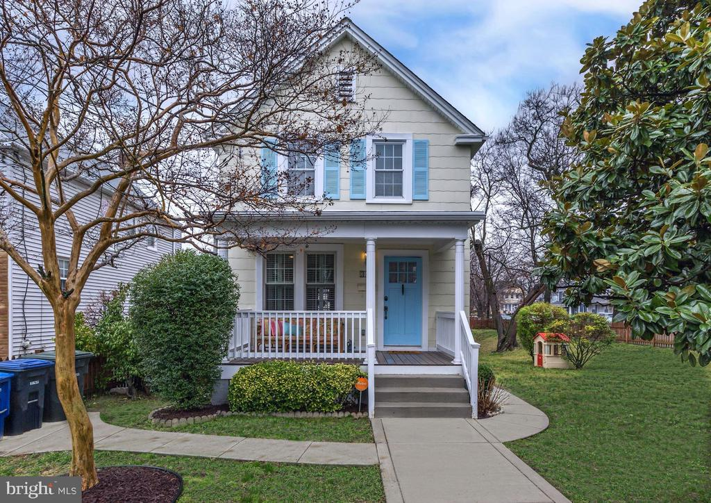 "This fabulously renovated 3BR/2.5BA home is located is the sought-after Brookland neighborhood - often referred to by Washingtonians as ""Little Rome"" due to its proximity to the National Basilica, several churches and monasteries, fine dining options, art galleries and performing arts venues. The house itself has 3 finished levels, kitchen with maple cabinets open to dining room, light-filled living room, powder room, hardwood floors and plantation shutters, 3BR (one with sun room) and 1 full bath up, finished basement with kitchenette and full bath downstairs, previously used for generating Airbnb rental income.  Private rear deck looks over concrete patio and fire pit, all on a large fenced corner lot.  Several public transportation options nearby including Brookland Metro (red line)."