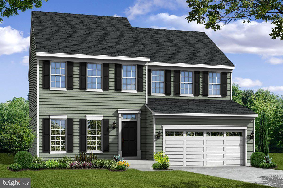 """This charming home features an open foyer leading to a flex room, tucked staircase and a centrally located powder room. A spacious family room with opt. fireplace, eat-in kitchen, breakfast bar/island, walk-in pantry & convenient mudroom off of your two-car garage. Add an opt. four foot extension to your family room and opt. sunroom off the kitchen. Upstairs, four spacious bedrooms, laundry, and hall bath give everyone room to spread out. Select a deluxe bath for the owner~s suite or a third full bath for bedroom #4. Enjoy the option to add valuable space with a lower level recreation room. This price includes the """"signature series standard features."""" Everyone wants a ranch on 1/2 acre and the possibility of having a detached garage! This home could be yours in as little as 90-120 days. Call to see if there is a model you can walk before you have one built in this secluded, maturely wooded community."""