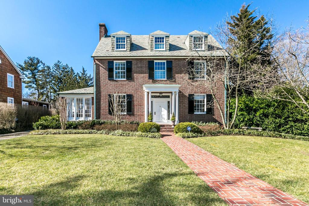 One of the most beautiful homes in the Pinehurst neighborhood of Baltimore County! With loads of natural light, this stunning home features 5 bedrooms, 3 full and two half baths, first floor family room overlooking a spacious patio and saltwater pool.