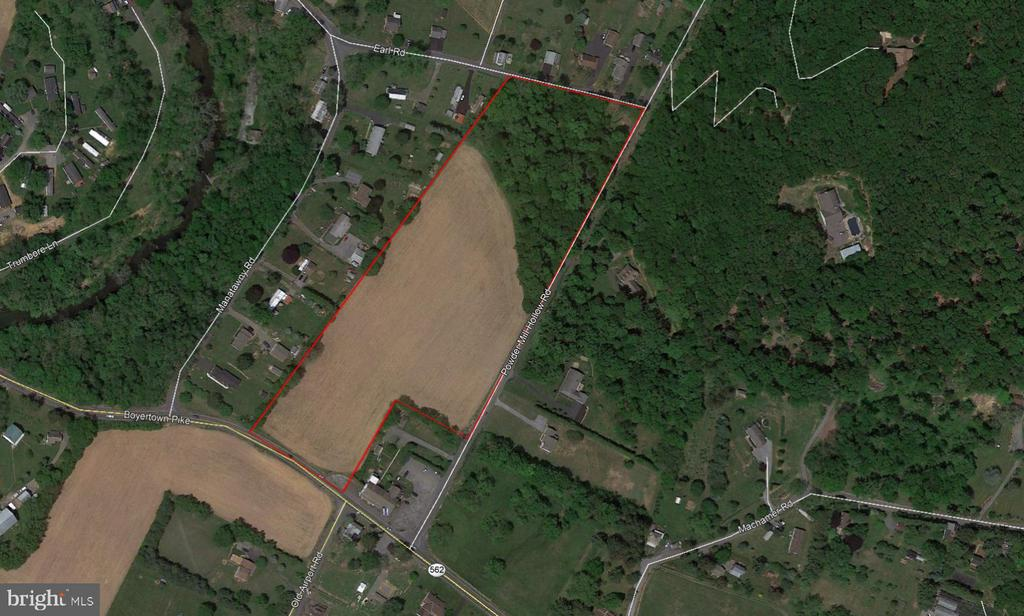 Beautiful 12 Acre Lot in Boyertown Area School District. Frontage on Powder Mill Hollow Road. Gently sloping  farm land with small wooded glen.  4 lots, each a generous ~ 2.75 acres,  fully approved for single family homes. One Lot is wooded, one is partially wooded, two are open. Two Lots will allow Walkout Finished Basements. Great Location with easy access to 562, Olde Airport Road, 662, and 422. Real Estate Taxes are significantly less than Daniel Boone! Public Sewer Approved (EDUs and tap in fees fully paid for), On Site Wells.  Price is with no builder tie-in.  Will consider selling separately or as a group.