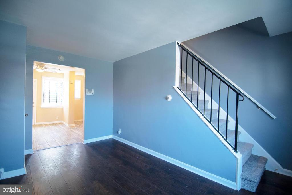 Turnkey 2 Bed 1 Bath townhouse in a quiet neighborhood of 21215! Fresh paint throughout, Newcarpet, floorings & tiles. Close to i83, 15 mins from Downtown Baltimore. Section 8 welcomed. Also for sale. Stainless Steel Fridge/Stove will be installed once the deposit received.