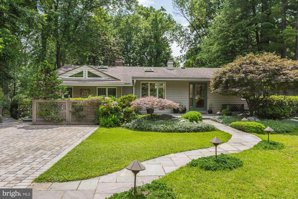 This charming, updated 4 Bedroom and 3 Bath rambler showcases contemporary flair and offers a light-filled, open floor plan and the ease of one level living with its highly desirable main level master suite.  With a wonderful in-ground Pool, a Screened Porch,  and a Sun Deck on a generous half-acre lot, this warm weather oasis is a true haven! The sun-filled , walk-out lower level offers amazing additional space. Set within close proximity to Cabin John Park, the C&O Canal Towpath, and Glen Echo Park, there are many options to please even the most avid outdoor enthusiast. Downtown Bethesda and Friendship Heights are also just a few minutes away and 7308 Broxburn Court is inside the Bannockburn/Pyle/Whitman School District.