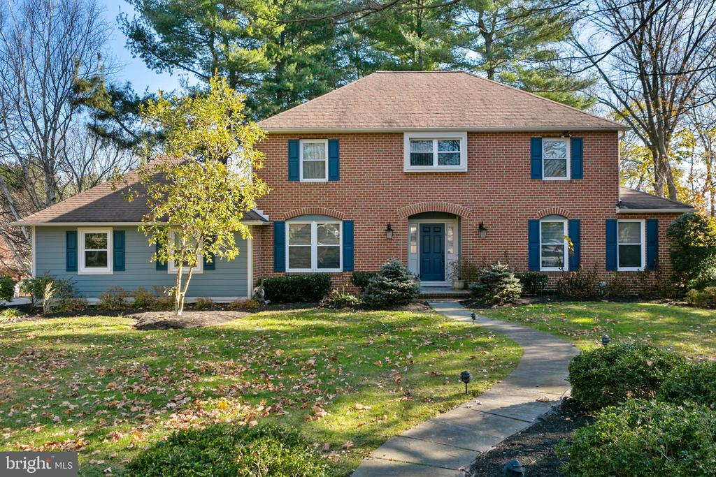 Welcome to this meticulously maintained and tastefully updated 4 bed 2 bath center hall colonial, situated on .62 of an acre in desirable Penn Valley. The first floor has great flow for entertaining with large living and dining rooms as well as a generously sized first floor family room with a fireplace, built-ins & sliders to the back yard. The brick patio off the family room is the perfect place to enjoy the yard and in-ground pool. Light permeates the eat-in, island kitchen through a large bay window. The first floor laundry area leads off the kitchen to an attached 2 car garage. The first floor powder room has been recently updated. The second floor consists of a large master suite with a custom fitted walk-in closet and new master bathroom with oversized walk-in shower, 3 additional corner bedrooms and updated hall bath. The finished lower level offers great usable space, perfect for play, gym and office areas as well as a large unfinished area for additional storage. This functional home is move-in ready - freshly painted throughout, refinished hardwood floors, 2 new bathrooms and new powder room and a FULL stucco remediation ~ stucco was removed and replaced with hardy plank!!The pool, while fully operational is closed for the winter, is in need of some repairs and is being sold in as-is condition. It has been used every summer since installation and was converted from a chlorine pool to a salt pool within the last five years. Award winning Lower Merion schools, near to major highways and an easy commute to Center City. Showings start at brokers open Tuesday Feb 25, 1-4pm