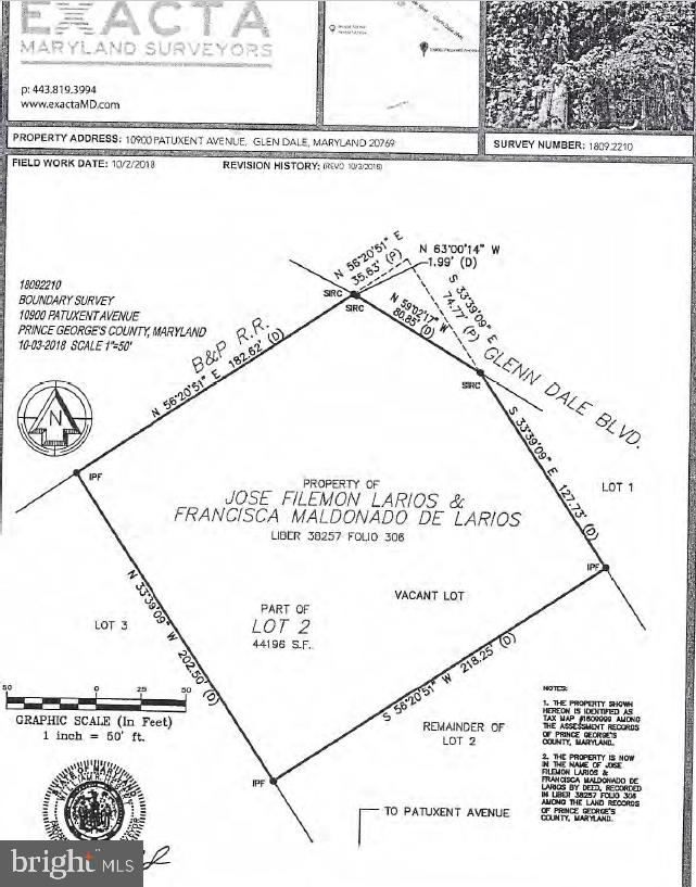 10900 PATUXENT AVENUE, GLENN DALE, MD 20769