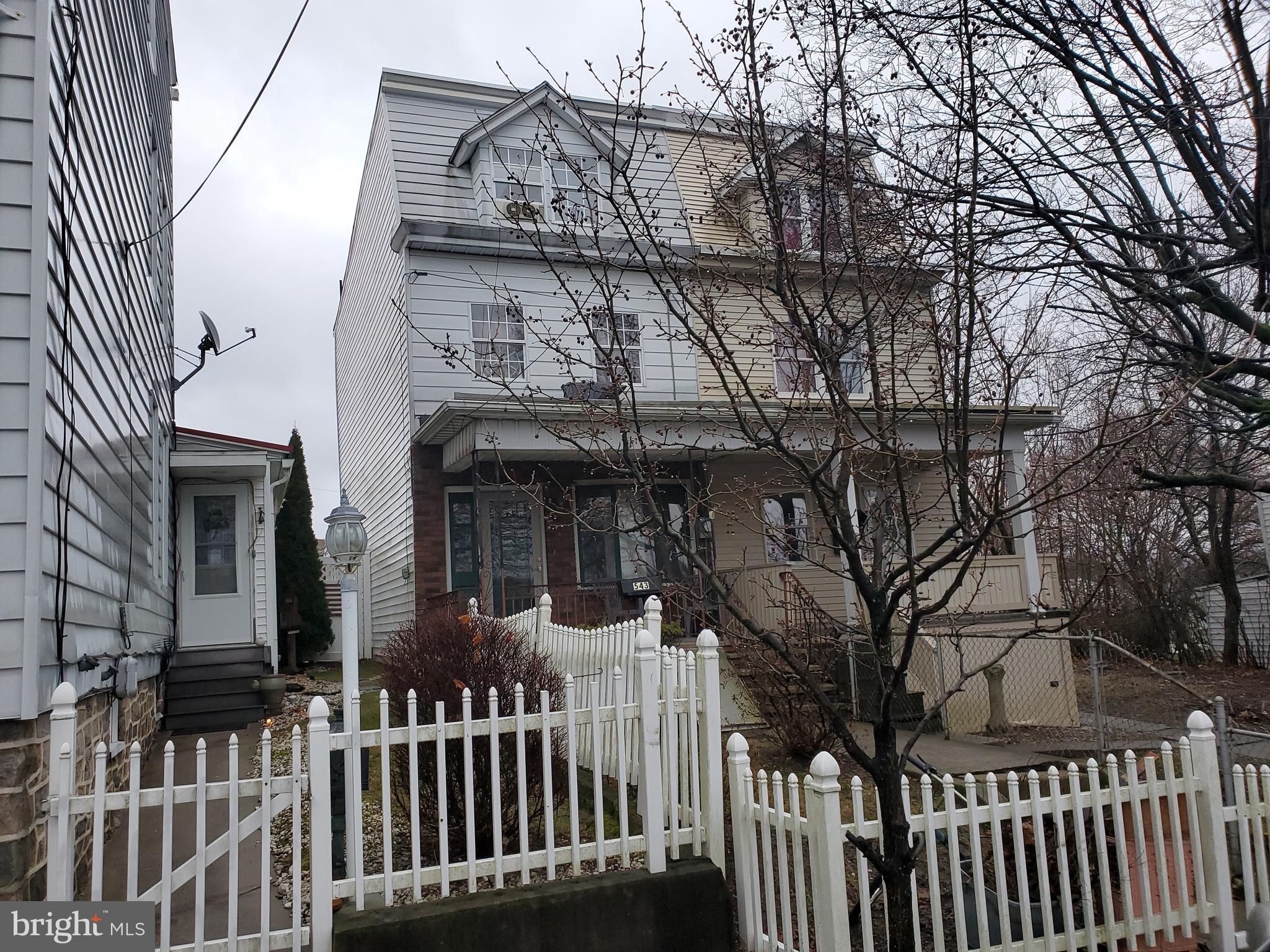 543 N 3RD STREET, MINERSVILLE, PA 17954
