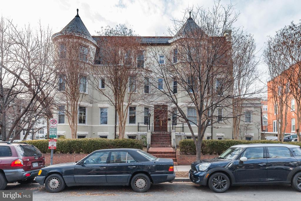 In the heart of Dupont Circle.  Multi family building 9 units 4 parking spaces - Fully furnished corporate apartments. Potential value Add. generating approx. $30K per month. Certificate of Occupancy for 9 units. To register for more information, visit https://www.180019thstnw.com/