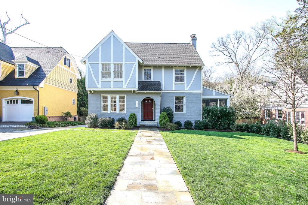 Open Sunday 2-4 ... fabulous 5 bedroom house with 4.5 baths in the sought after Town of Chevy Chase.  All windows recently replaced, many upgrades make this turn key home the one to see and buy this weekend! Sunny family room addition adjacent to the kitchen  plus formal living room and dining room ... wonderful master suite with lots of closet space.