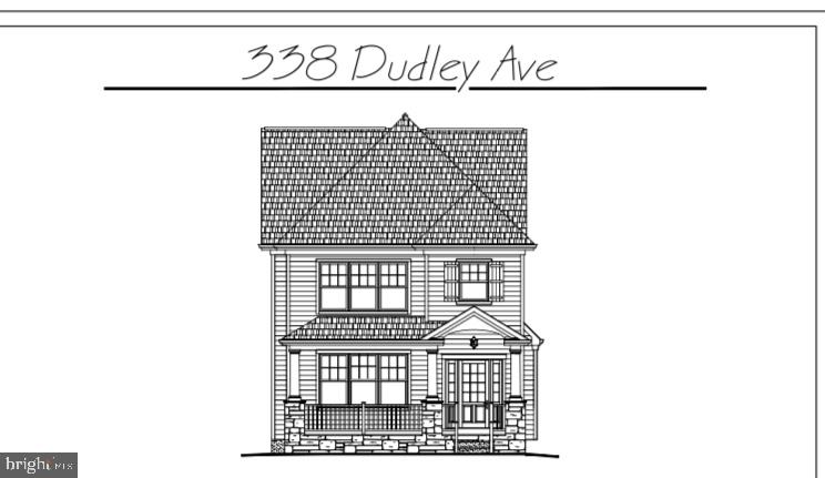 New construction in Narberth is under way! Welcome to 338 Dudley, a pristine custom built French Colonial FarmHouse style home that's making a statement! Offering a large 5 bedroom, 3 full and 1 half bathroom built by the renowned John Rayer and Son Builders, this home features stately craftsmanship, luxury materials and high-end finishes. Impressive curb appeal will complete the exterior with a beautiful stone front porch, James Hardie BoothBay Blue siding, and Georgetown Grey Shingle roof. Upon entering the front door, you will immediately be drawn to the grand hall foyer with 8ft tall custom-built interior doors with see through glass windows, hardwood floors, wainscoting and crown molding throughout. The first floor boasts a floor plan that includes an open concept gourmet kitchen with 7 ft island, breakfast area, living room or office, dining room, powder and mudroom with built-in cubbies. Including quaint back deck with steps down to the side yard. Second floor offers a great master suite, large en-suite bathroom and walk-in closet, two good size bedrooms with shared Jack and Jill bathroom, linen closet and laundry room complete this floor. Third floor offers two more great size bedrooms with hallway bathroom. Located in the highly desirable borough of Narberth. Easy walk to train station R5, town, playgrounds and Award Winning Lower Merion Schools. Enjoy everything this house and neighborhood has to offer! Taxes and assessment TBD. Projected completion July 2020, weather dependent. Please contact Co-listor Nora DeCristofano for more details and showing info -Nora.D@foxroach.com.