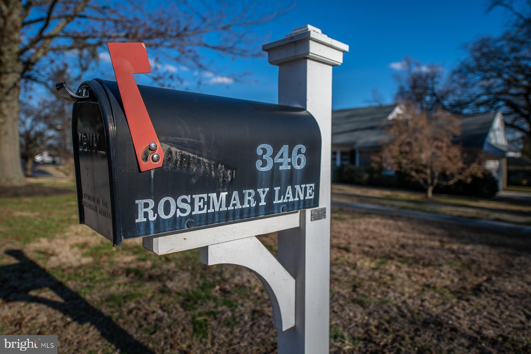 346 ROSEMARY LANE, NARBERTH, PA 19072