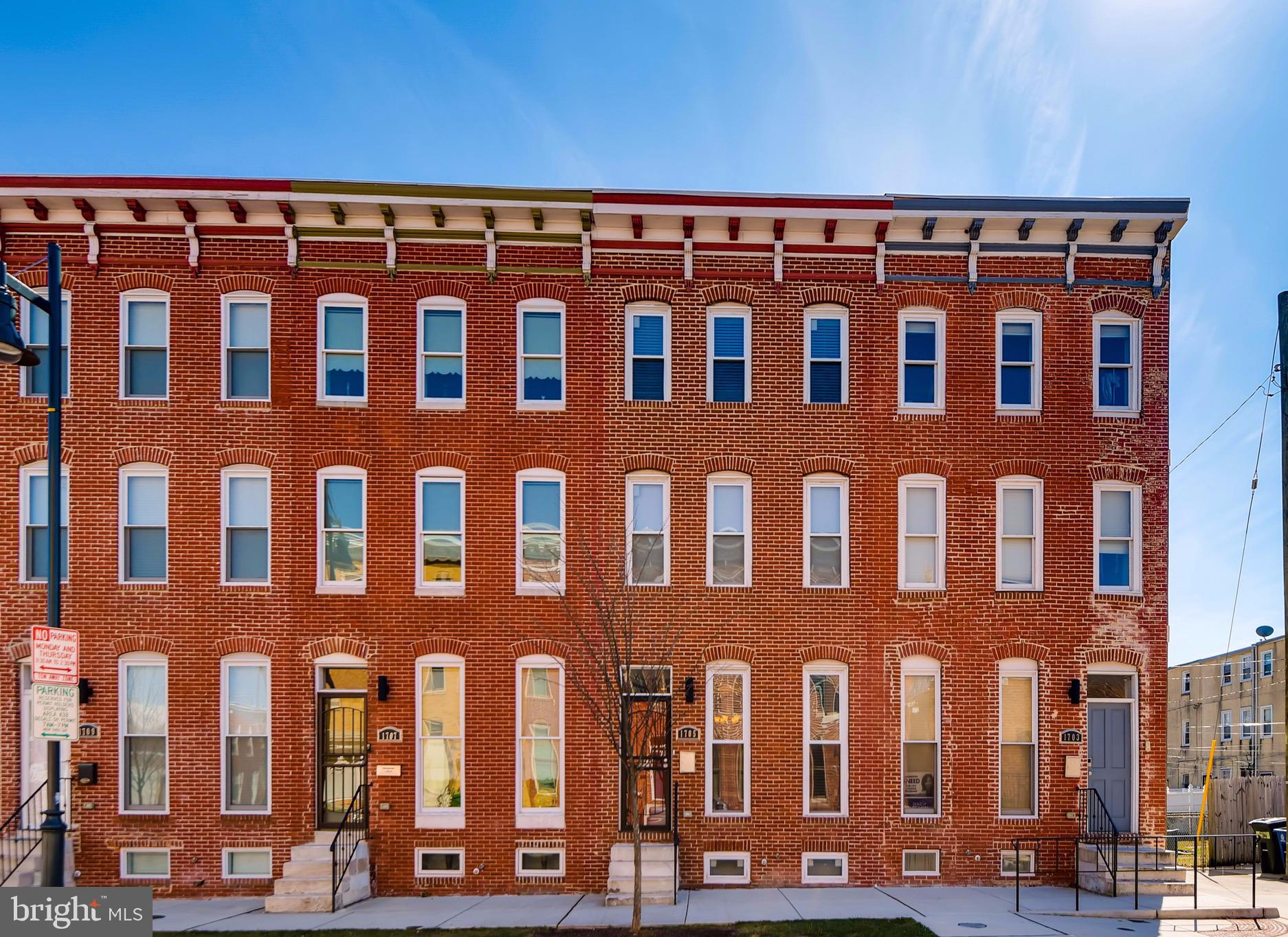 1705 E CHASE STREET, BALTIMORE, MD 21213