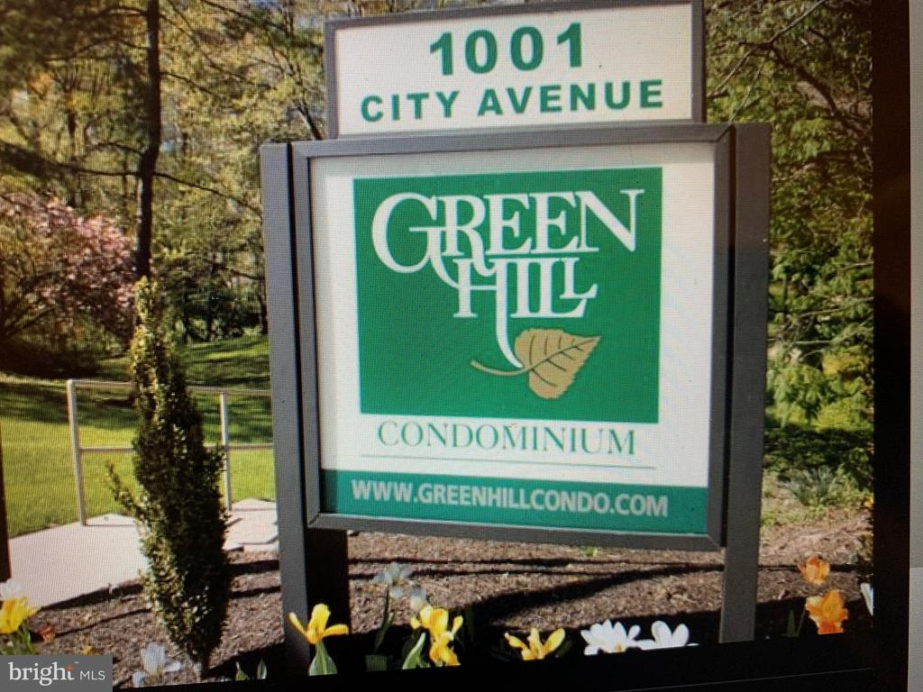 Great    location ~ Beautiful community in Lower Merion .. finding  this much space and amenities under 200k is  hard to find ! Only  a few communities left in this price range The west building is the more private of the two. Lush setting and  again: proximity to center  city via Rt 76 of Rt 1 of both Kelly and River drives along the Schuylkill river  is wonderfully classic  way to get around. Access to shopping is easy - with the Wynnewood shopping center  and  the Giant  Grocer with  it~s various shops and dining choices. Whole Foods equally close  with cafe and live music on various nights.Green Hill is in a  welcoming community  and this   9th floor,  2bdroom , 2 bath unit  with  balcony has a southern  exposure :  roomy layout and  more. Its awaits your modernizing touches.