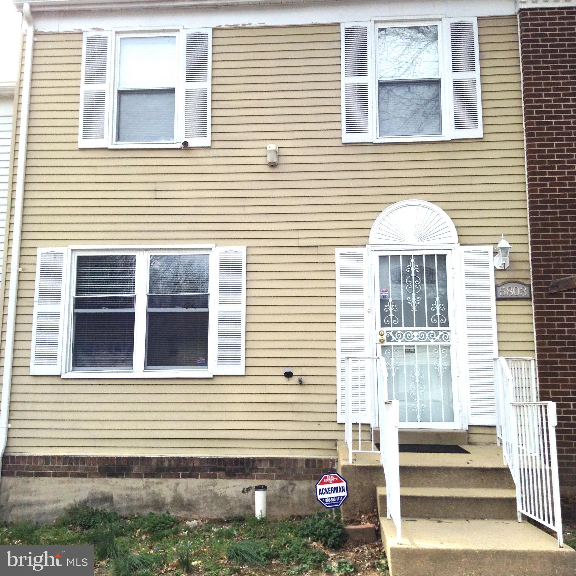 5803 FALKLAND PLACE, CAPITOL HEIGHTS, MD 20731