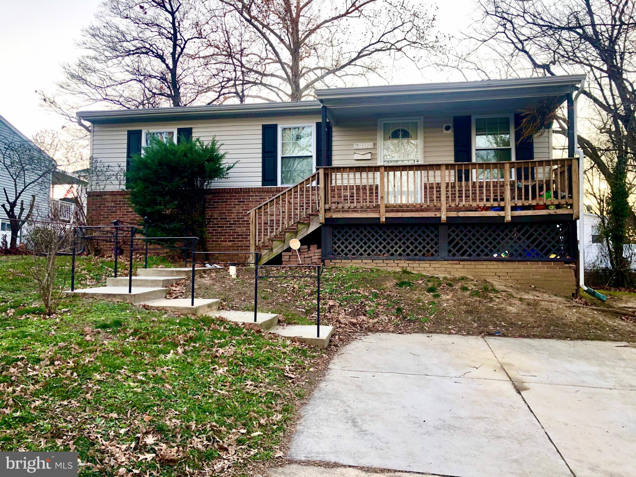 3402 37TH PLACE, BRENTWOOD, MD 20722