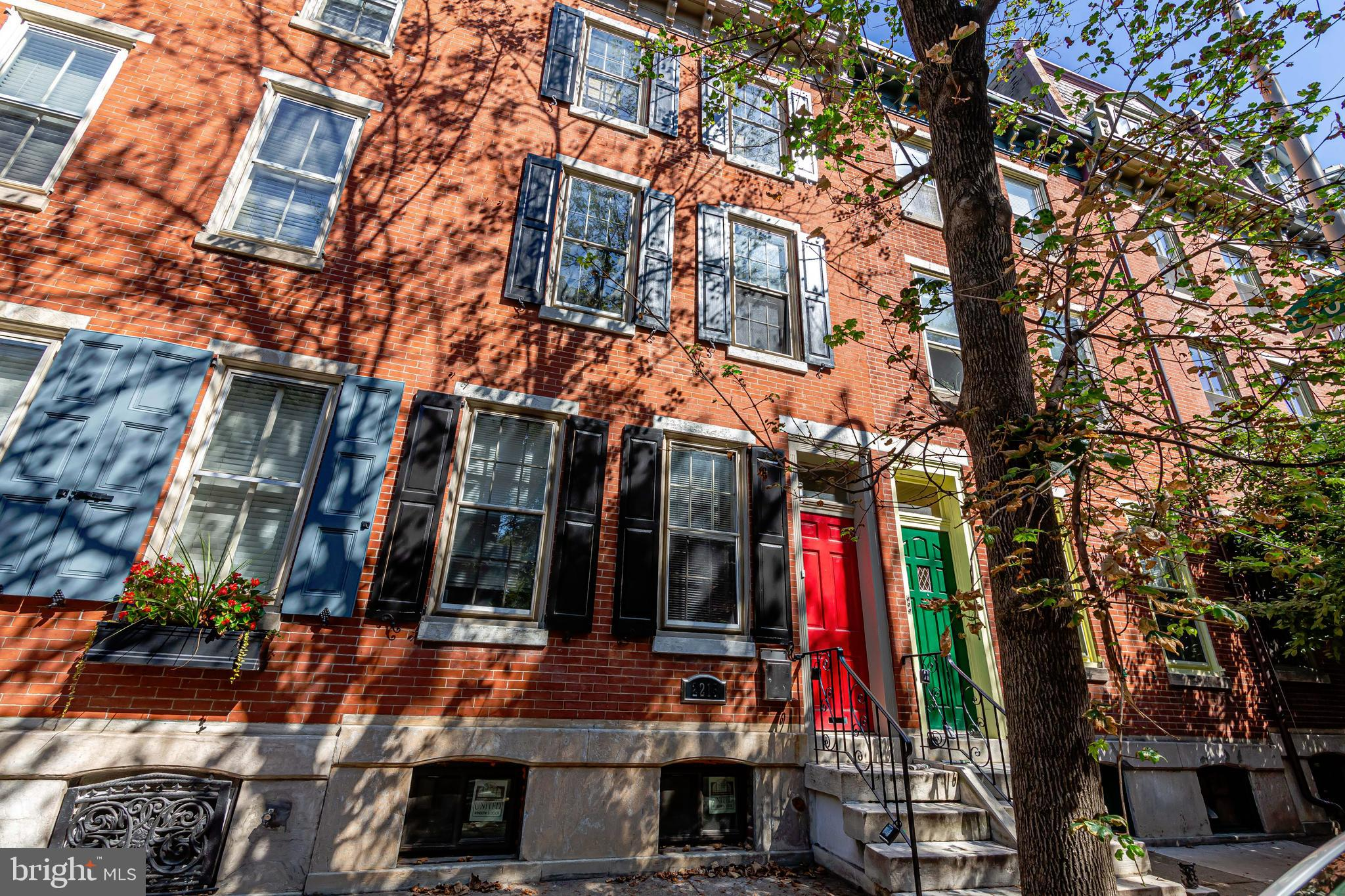 Just renovated!  Entire first floor apartment, with garden is a must see! All new hardwood floors , sleek designer bathroom ,11 ft. Ceilings with crown molding. Great space and light with washer and dryer in unit. Just minutes from Rittenhouse Square and Fitler's Square.