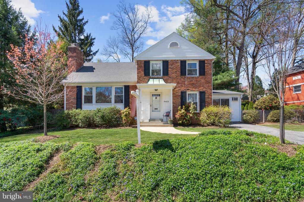 Gorgeous four bedrooms, four full bathrooms, brick split level-style home that has been well-maintained and recently upgraded by its current owners. The home is located in the very popular Springfield neighborhood in Bethesda, on a nicely landscaped lot with a fenced backyard and large brick patio. The main level features a delightful kitchen with new 2020 granite countertops, custom tiled backsplash, stainless steel appliances, recessed lighting, and hardwood floor; formal dining room with hardwood floor and French Door access to the sunroom; sunroom with new 2020 vinyl plank floor; and spacious foyer with hardwood floor, recessed lighting, and large coat closet. Upper level #1 enjoys a beautiful living room with picture window, hardwood floor, and wood-burning fireplace, bedroom or office with new closet, and full bathroom. Upper level #2 has a full bathroom and two very large bedrooms with two closets each and one with private access to the hall bathroom. Upper level #3 is where you will find the master bedroom suite with hardwood floor, three closets, and private completely remodeled 2020 master bathroom. The lower level is partially finished and features a family room with wood-burning fireplace, ceramic tile floor, three windows, and built-ins; upgraded full bathroom with new ceramic tiled shower and white vanity with cultured marble top, and laundry/utility/storage room with washer, dryer and utility sink. The exterior features a covered front entry, large driveway, and fenced backyard with expansive wrap-around brick patio with brick wall, gorgeous gardens and lawn, and built-in shed. Additionally, the home is located in the Whitman, Pyle, and Woodacres school district, and is within minutes of Westbard Shopping Center, Woodacres Park, Capital Crescent Trail, three bus stops, Friendship Heights Metro Station, Little Falls Library, and so much more!!