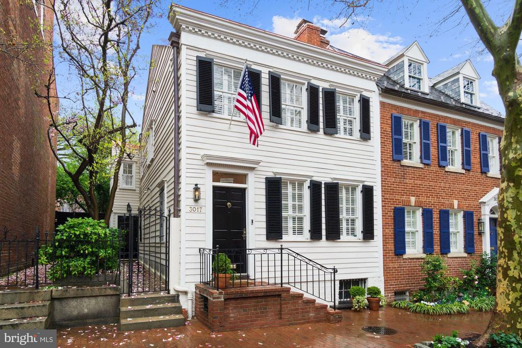 This circa 1817 Federal home is the quintessence of Historic Georgetown representing all that makes the Village a world-renowned entity. Carefully preserved to include original flooring and thoughtfully improved to appreciate today's lifestyles, this wonderful antique features the best that yesterday and tomorrow have to offer. Awash in natural sunlight, there are multiple accesses on the main level enchanting Terrace, period wood-burning (recently relined) fireplaces and wonderful welcoming spaces for readers and art lovers alike. This extraordinary historic home will impress the most discerning palates and features a brand new copper seam roof. This enchanting home with unsurpassed charm also has multiple opportunities for expansion making it a very smart choice indeed.