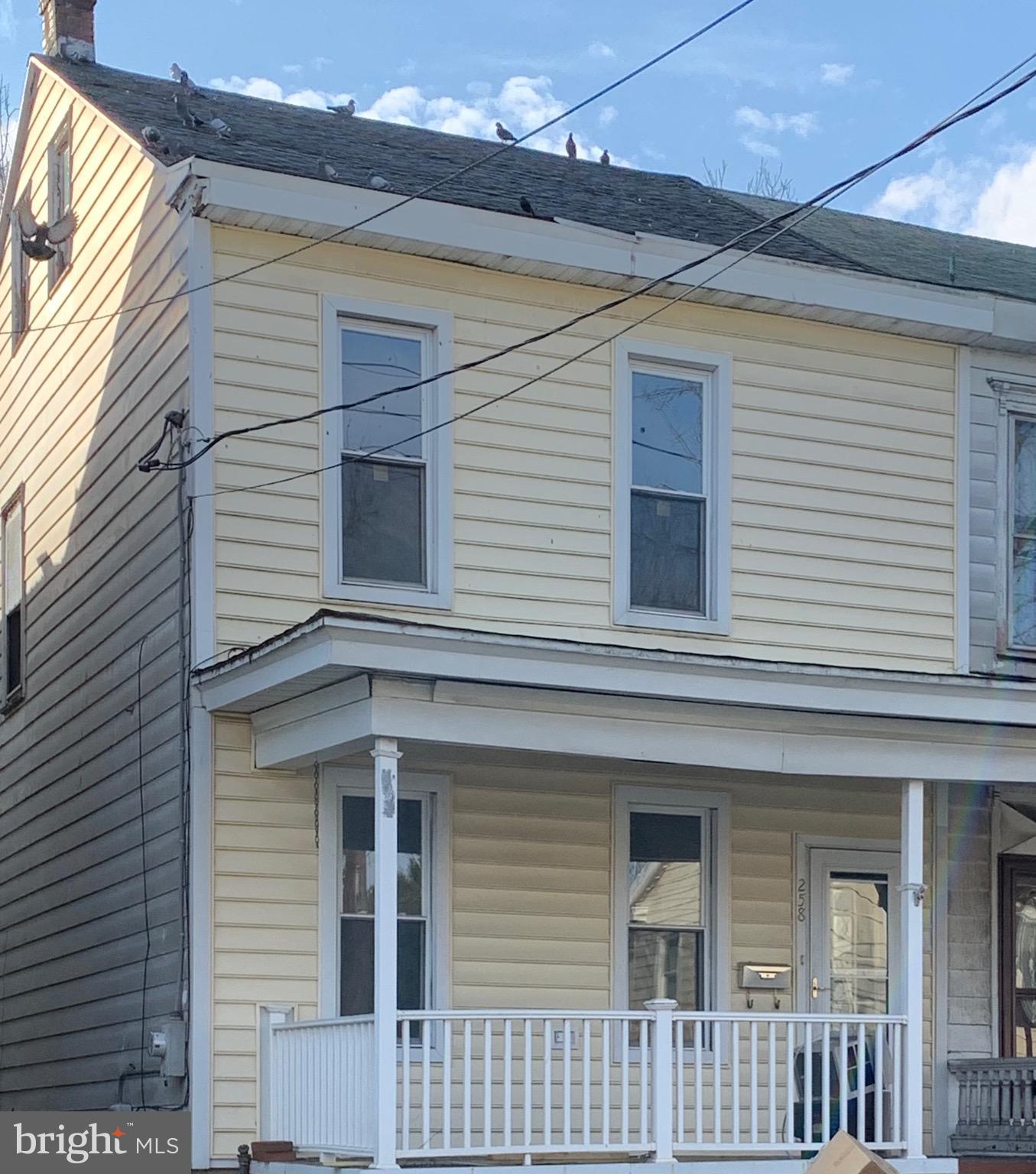 258 S TULPEHOCKEN STREET, PINE GROVE, PA 17963
