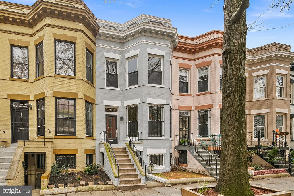 3-D Virtual Tour Available for Unit A https://bit.ly/3gan4ID and Unit B https://bit.ly/2WUnonv -- A truly special home. This classic Dupont townhouse has been meticulously maintained, and gorgeously updated with a full renovation in 2019. Preserved hardwood floors and original architectural details throughout. Plenty of natural light through gracious bay windows. Spacious living and dining rooms perfect for your next dinner party or family gathering. Brand new gourmet kitchen with stainless steel appliances, granite countertops and lovely tiled floors & backsplash. Large upstairs bedrooms and luxuriously updated baths with glass enclosed showers, high-end fixtures and stylish custom tile. Fully finished English basement includes plenty of space for living and dining, wood burning fireplace, separate kitchen & laundry, full bedroom & bath, and provides a fantastic income opportunity. Front and rear brick patios are perfect for outdoor relaxation and entertainment, and detached full size garage with 2 car parking is a must have. Perfect location between Dupont and Logan Circle! Unlimited options for retail, restaurants, nightlife, and easy urban living. Mere blocks to Dupont Metro and U Street Metro. Safeway, Whole Foods, Ace Hardware, Keagan Theater, gyms, cafes, bookshops, art galleries, and playgrounds, all within blocks. Hot neighborhood dining: Little Serow, Sushi Taro, Hanks Oyster Bar, to name a few. Stop by one of the local farmer~s markets for the season~s freshest produce. So much to love!