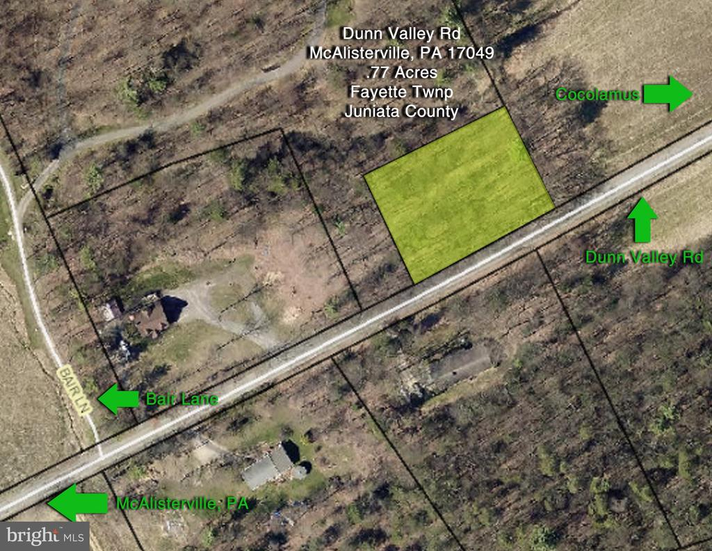 00 Dunn Valley Road, Mc Alisterville, PA 17049