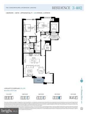 7 Pioneer Mill Way #Residence 3.402, Alexandria 22314