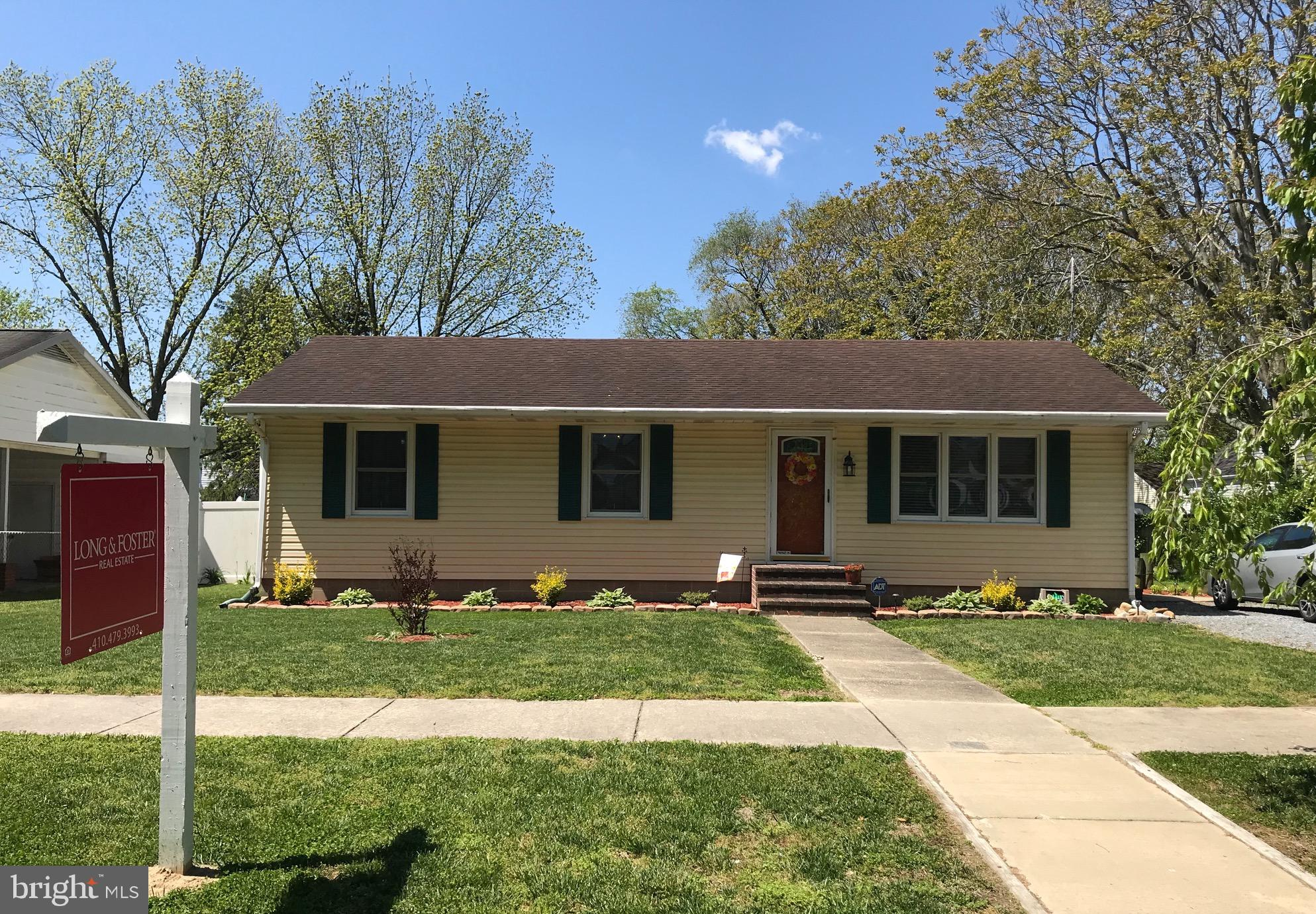 105 Maryland Avenue, Ridgely, MD 21660