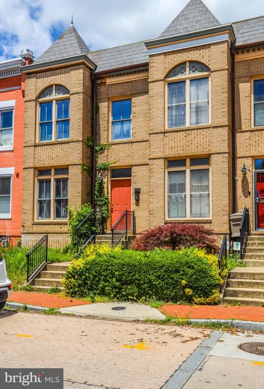 Rare opportunity to own in Ledroit Park! Gorgeous newer build Victorian style rowhome, with an all brick facade. Home needs some TLC to really shine and is priced accordingly. 3 bedroom 1.5 baths, easy alley and street parking, along with a shaded outdoor living area. Come tour and fall in love with the location!