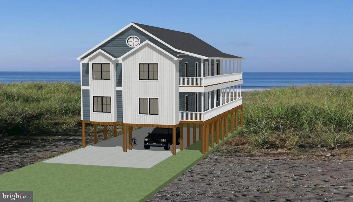 Visit this home virtually: http://www.vht.com/434070660/IDXS - Easily one of the nicest lots still available at Lewes Beach.  Borders directly on state land on 195 feet on the right side and 20 feet facing the Delaware Bay, offering full, unobstructed panoramic view from the entire length of the second and third stories, with nothing but dunes and a parking area to obstruct the view from ground level.  Huge, almost 1/4 acre lot offers plenty of room for large home, huge back yard and plenty of parking.  Check out the drone pics to see a glimpse of the amazing views that await you - also listed as a lot with no builder tie-in.  Beracah is in the process of getting county and town approvals to build a 3712 square foot 6 Bed, 4 Bath New Construction Home with an elevator.  Wrap around deck will feature unparalleled water views. Optional Pool and Casita can be built in huge back yard with pricing avaialable upon request.  Buy it today, and you and be part of the selection process as Beracah Homes begins building your dream home tomorrow!