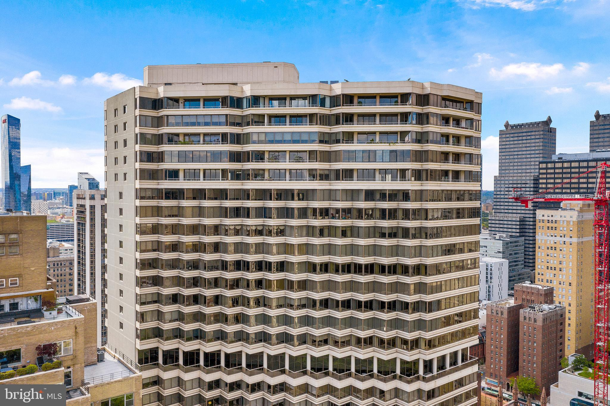 """A RARE opportunity to combine units 2903 and 2904 and live on Rittenhouse square in a wonderful 6000 square foot  penthouse location with fantastic views of the square and city skyline.  Please view the Matterport virtual tour of the current condition and the 3D tour for the virtual rendering  possibilities. By clicking on the green tags, you will see the explanation and the possibilities ! This unit, will truly be """"A One Of A Kind"""" home and is ready for your custom build out and any amenities you choose.  Accessible balconies for true relaxation, dining and entertaining and panoramic views! ( shown in the 3D tour).  Make your appointment today, bring your favorite designer and create your perfect home in the Philadelphia sky!  Morrissey Design has plans and may be available for hire on the custom build out."""