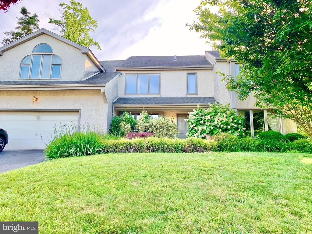 Large two story home with full finished basement in the desirable Indian Creek development in Wynnewood.  When you enter the front door you will find a custom painted foyer with a large coat closet.  On one side of the foyer is the formal living room, on the other side is the formal dining room.  Both with front facing bay windows that let in tons of natural light.   Off of the dining room is the updated eat in kitchen with granite counter tops, custom cabinetry, high end Sub Zero and Thermador stainless steel appliances, the kitchen table is surrounded by large windows overlooking the backyard and skylights.  To one side of  the kitchen you will find the two story den with fireplace and sliding doors that lead to the sizable backyard complete with a patio for gathering and grilling and enough room for a pool if desired.  On the other side of the kitchen you will find and over-sized study/family room also surrounded by large windows that overlook the backyard and skylights.  From there you can enter the mudroom/laundry with washer and dryer and tons of closet space.   Through the mudroom you can access the over-sized two car garage which also has an extra storage room.  Completing the first floor is a half bath and access to the finished basement.  The second floor includes 5 Bedrooms, two of which are suites with walk in closets and full bathrooms, as well as one full hall bathroom.  The master suite includes lots of storage, big walk in closet with custom shelving and vanity table that connects to the bathroom.  The master bath has a double vanity, separate very large shower and huge tub with jets.  Completing the house is a full sized finished basement that offers another full bathroom and plenty of storage closets.  There is an open play area, an exercise room and a cedar closet.This home has lots of space and storage. Great spaces for entertaining. Beautiful back yard.  Updated and well maintained with high end heating/air conditioning zoned system for even temperatures throughout. Invisible fencing for pet security. Great location for shopping. Excellent school district.  Easy commute to center city Philadelphia. Convenient public transit available.