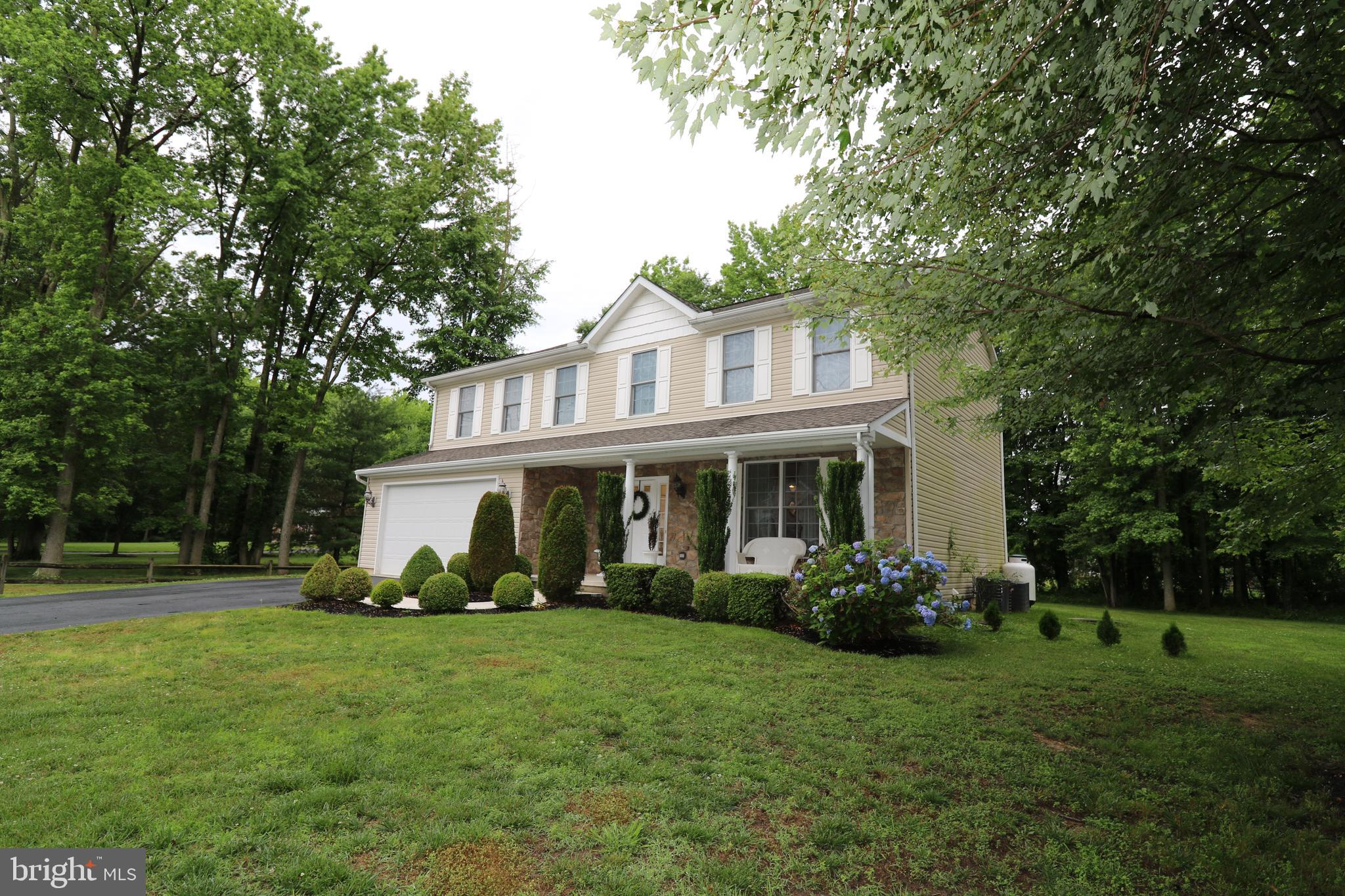 "A RARE opportunity to own a beautiful home on a  partially wooded, .45 acre lot, that's not in a neighborhood. This well appointed 2-Story Colonial features: Hardwood flooring, 9' ceilings,  2nd floor laundry, 4 spacious bedrooms and a gourmet kitchen boasting Stainless Steel appliances, 42"" cabinets , center island and Granite countertops. There is also a full unfinished basement ready to be converted into your very own Home gym, Theater or Bar/Billiard room? Schedule your showing today, you'll be glad you did!"