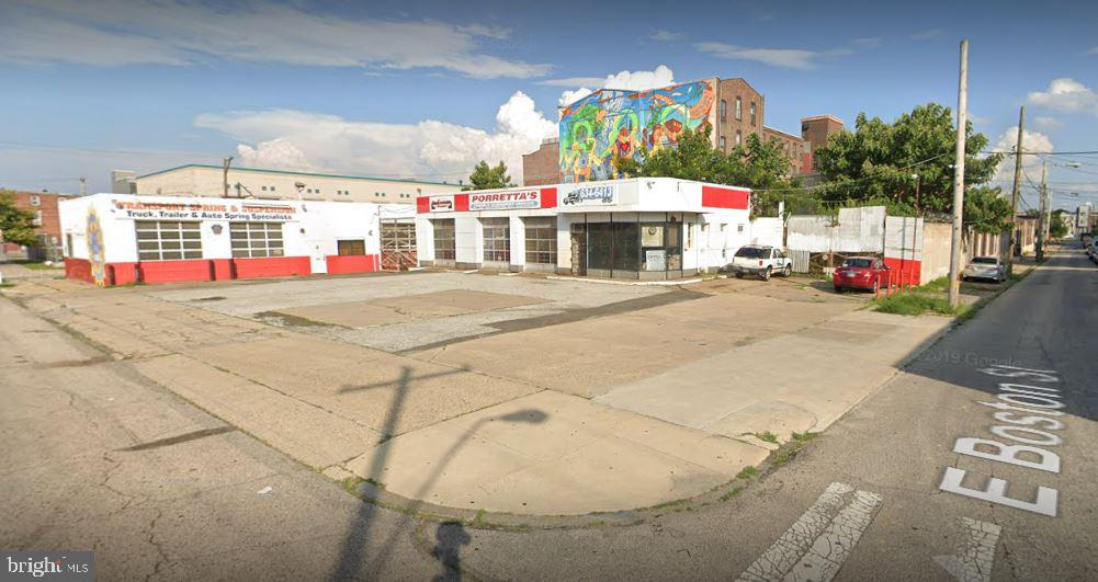 Incredible opportunity to develop a large 20,260 sf lot, in a designated Federal Opportunity Zone, in the East Kensignton/Fishtown area. This neighborhood is booming with development, 1 block to a subway stop, close to Frankford Ave, and all the hot spots in Fishtown. Build 5 stories by-right, perfect location for an apartment building as the demand continues to increase in this area for rentals.  Currently used as a mechanic shop, with a 1 story building on part of the lot.