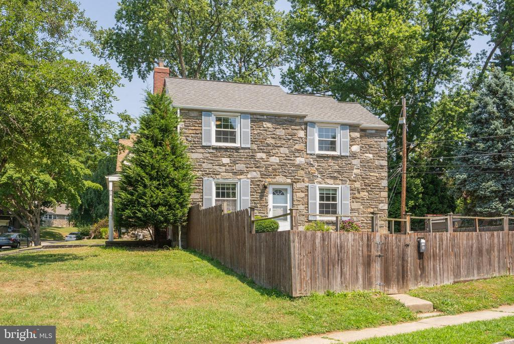 Welcome to a detached 3 bedroom, 2.5 bath home in the heart of the Penn Wynne section of Wynnewood.   Walking distance to parks, playgrounds, and the Penn Wynne Library.  Large corner lot with a fenced yard.  Freshly painted and hardwood floors redone.  Do not miss the opportunity to make this home your own.  Award-winning Lower Merion schools.