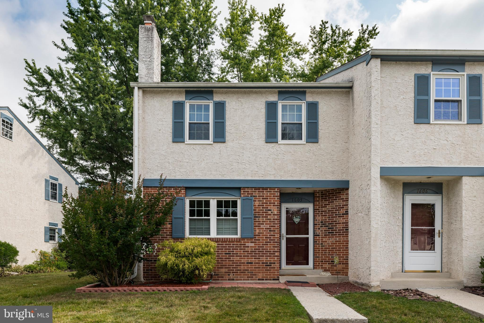 Here's your opportunity to own a townhome in sought-after Covered Bridge Crossing! This wonderful end unit boasts many updates including newer carpeting throughout, newer HVAC, and recently updated granite countertops and refreshed, refaced cabinetry in 2018! Every room is spacious, from the oversized, open-layout living room with gorgeous brick, wood-burning fireplace to the large, eat-in kitchen with ample cabinet space, pantry, and newer sliding door which leads to the peaceful rear deck. The main level of the home also features a convenient half bath. On the second level, you'll find three generously-sized bedrooms, all with newer carpeting and with the main bedroom featuring two closets and access to a Jack-and-Jill bathroom with skylight. Storage won't be a problem in this home with linen closet, hall closet, pull-down attic access, and a full basement with laundry facilities! There are many reasons this community in East Pikeland Township is highly coveted; among them the access to walking trails and French Creek, community playground, basketball courts, and its proximity to bustling downtown Phoenixville!