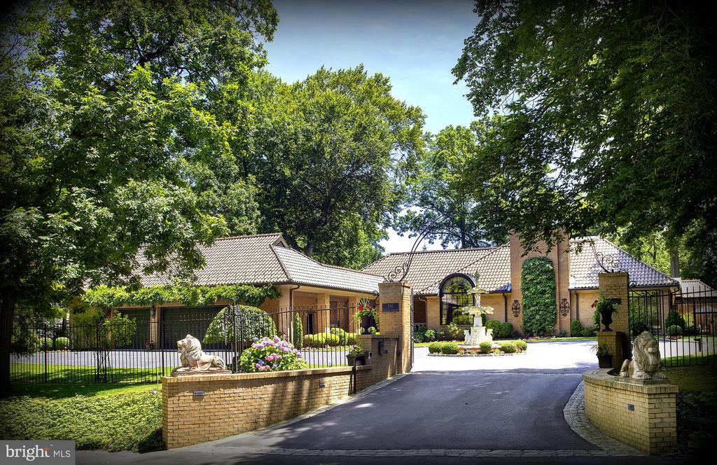 """""""Villa Zeta"""" an elegant, Tuscan inspired residence, located on Philadelphia's  sought after """"Main Line"""" just minutes to Center City! Behind the gated entrance, drama & romance beckon. Lush, mature landscaping create a secluded & totally-enclosed oasis for entertaining & everyday living. Unable to be replicated, this one-of-a-kind resort-like property has been painstakingly created as a true work-of-art, with custom finishes, including a Ludowici tile roof & garaging for 3 + cars! The open floor-plan surrounds the focal point of the house...the indoor pool, with dressing room & full bath,  which comes immediately into view upon entering the 2-story foyer. The indoor pool allows enjoyment year-round, with incredible indoor-outdoor flow provided by French doors around the pool to host friends for casual cocktails in or outdoors. Most conveniently located just minutes to all major roadways, countless dining & shopping options, the famed Merion Golf Course, as well as medical offices, hospitals, R5 train, King of Prussia, Center City & Philadelphia International Airport! Owner is a PA licensed realtor."""