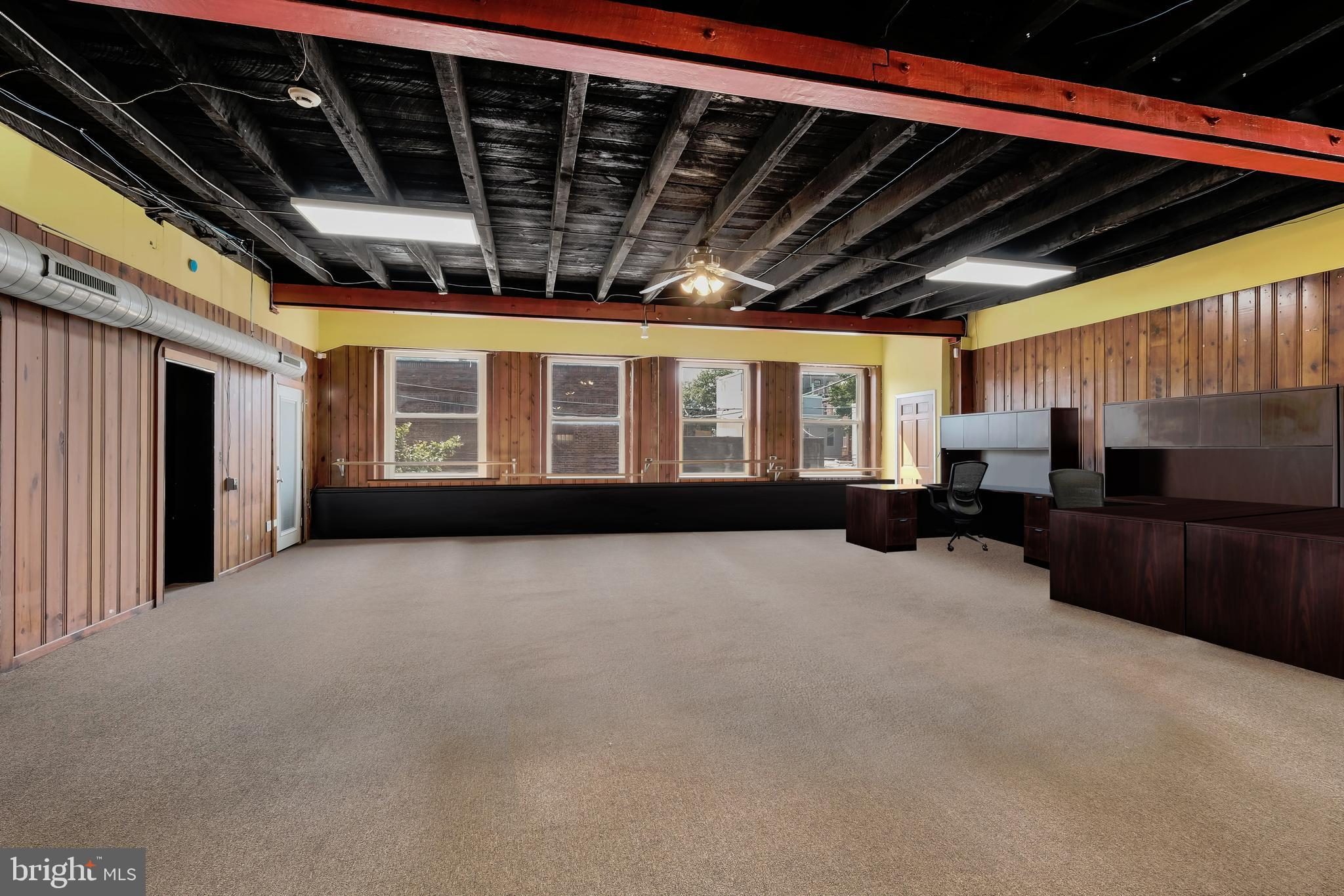 Light filled  3000 plus square feet located on the second of 1321 S Juniper Street FOR RENT!  Enormous and open floor plan plus four additional with two full baths, and an additional half bath. Gated parking next to the building is also available for rent.