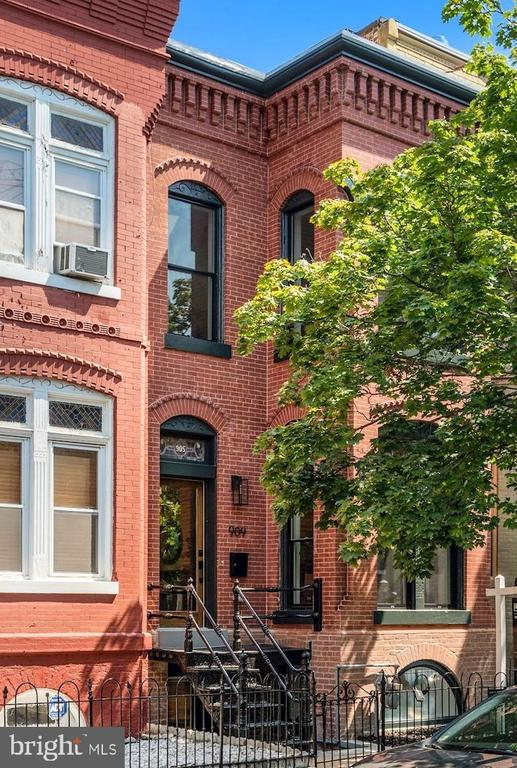 "Welcome to this quintessential home in the heart of coveted Shaw. Originally built in 1890, this 4 BR, 3.5 BA Federal brick home was masterfully and lovingly renovated by Dogwood Restoration. The house combines classic and modern finishes on one of DC's most charming and quietest streets (French Street). The main level floor features a large open floor plan, with gorgeous living and dining areas including two classic fireplaces and a gourmet kitchen. The upper level offers three well apportioned bedrooms and two full baths, including the master, high ceilings, and en-suite bath. Downstairs, a fully finished lower level guest suite features an additional bedroom, bathroom, and a separate front entrance--perfect for an au-pair or in-law suite. All this on one of DC's ""best kept secret"" blocks, within walking distance to Logan Circle, the 14th and U Street Corridors, Trader Joe's, Whole Foods, and endless cafes, bars, restaurants, and shops. You cannot miss this exceptional opportunity to live in a dream home in Historic Shaw."