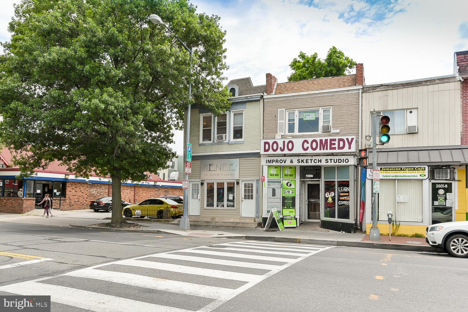 Reduced Price. Fantastic commercial property located in the Parkview neighborhood of DC. Excellent  core urban location, Currently used as salon. Many options. Owner, User, Development Two Story Building + Basement, Retail & Office Space. Separate entrance for each floor. Zone NC-8 : Increased Density Potential.