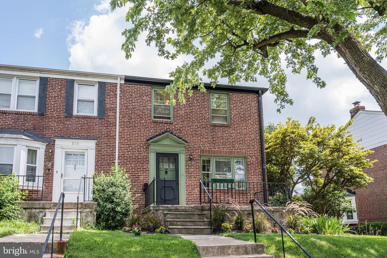 237 Blakeney Road   - Baltimore, Maryland 21228