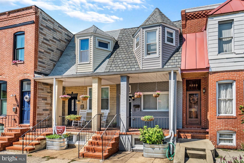 Mdba521382 Interior Row Townhouse Real Estate 3506 Gough