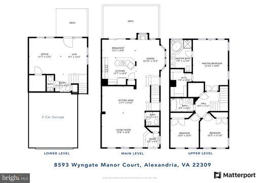 8593 Wyngate Manor Ct Alexandria VA 22309