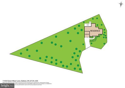 11433 Green Moor Ln Oakton VA 22124