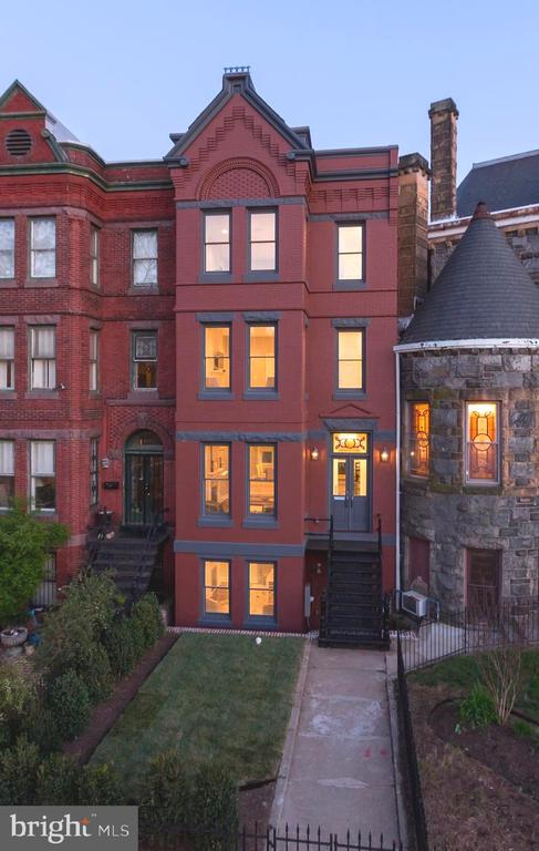 Welcome to 611 Maryland Avenue, NE. This historically preserved Victorian-style rowhome exudes famed Washington, DC elegance, with only the modern house numbers hinting to the striking contemporary design within.   Sited in an unparalleled location just steps to Stanton Park and Capitol Hill, four blocks from Union Station, 611 Maryland Avenue's recent architectural renovation by renowned developer Cooper Carry is perfect in every way.   Gracious entry with high ceilings and custom millwork, exceptional finishes including marble tiled kitchen and baths, highly desired roof deck with gorgeous views, and three custom marble fireplaces. Lower level includes separate exit, kitchenette, and bonus bedroom.   An absolute stunner, ideal for the most discerning clients, this is a must tour.  Please Note: Images show previous staging; owners in the midst of packing and moving out.