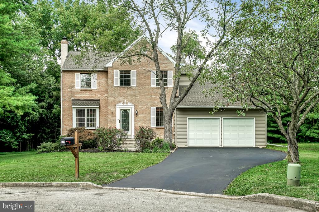 Welcome to the Glenhardie neighborhood in Wayne, PA, a charming, mature treed, cul-de-sac setting.  This home is ideally situated on close to a ½ acre lot providing front, side, and rear yards. This home is solidly built and offers low maintenance, easy and relaxing living, with abundant natural light throughout.  As you arrive up the driveway you can enter the 2-car garage, and simply enter the home directly onto the main floor of the home. The main floor offers an Island Kitchen that is the ?heart? of the home joining the Dining Room and an open floor plan to the Family Room. The Kitchen is light and bright with abundant cabinetry, newer appliances including stainless-steel fridge, gas top cook top, microwave, double wall oven, and stainless-steel dishwasher. Additionally, sliding glass door offers direct access to rear deck from the kitchen.  Relaxing in the front Living Room, the large window allows abundant natural light to enter the room.  The Dining Room also has great natural light and has direct access to the kitchen.  The Family Room offers a brick faced, gas equipped fireplace with natural light entering the space through 2 large sliding glass doors that exit onto the rear deck and into the rear yard.  The deck offers a great sitting area for morning coffee or an evening cocktail.  Laundry area also located on main floor.  Ascending the center staircase to the upper floor the Master Bedroom and Master Bathroom offer extra room, a walk-in closet and vanity seating area.   3 additional bedrooms occupy the upper floor which all have easy access to the full bathroom. The lower level, fully finished, partial basement offers direct access from the kitchen.  The 500 sq. ft. finished basement is fully carpeted and is ideal for a variety of uses; Entertainment Room, Exercise Room, Game Room, etc . Come see this beautiful home to get a feel for the lifestyle opportunity it offers!  Recent upgrades include:  New Gas Hot Water Heater (2019), New 200 AMP Electric Circ