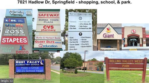 7021 Hadlow Dr Springfield VA 22152