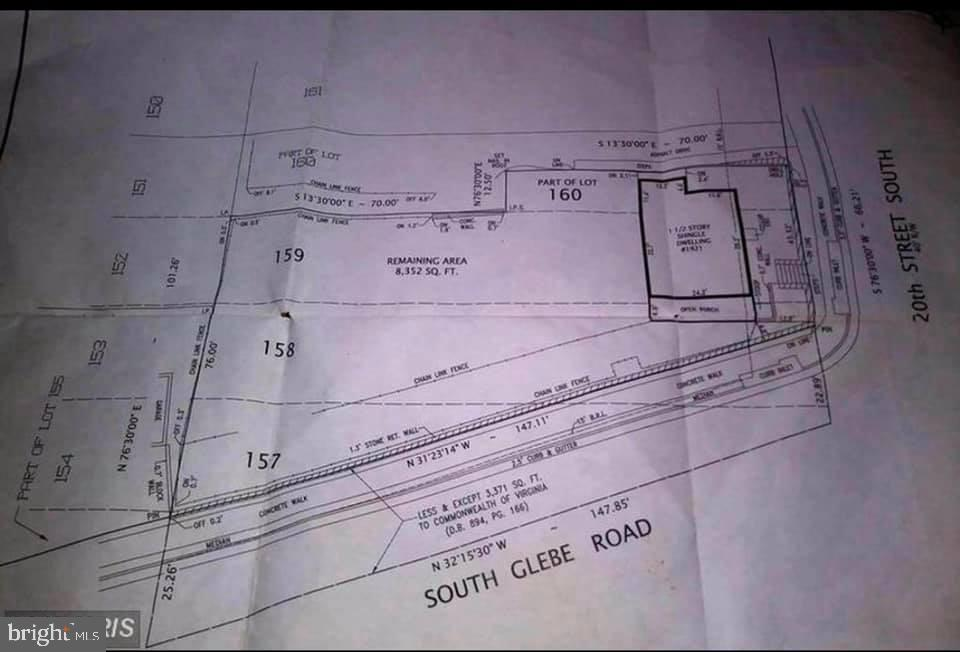 BUILDERS & DEVELOPERS!!! RARE OPPORTUNITY - to Build your DREAM HOME  in the sought after Arlington County, Virginia. Sellers financing available upon request- Buyers must do their own Diligence!